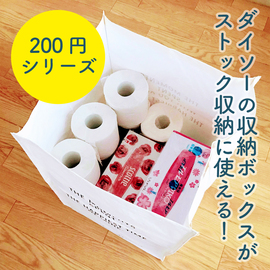 ダイソー200円シリーズの収納ボックスが優秀だった話