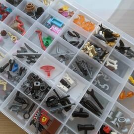 【100均グッズ活用アイデア】レゴの収納に最適!クリアボックス